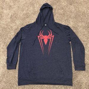 Spider-Man Youth XL Spidey Logo Hoodie Sweatshirt